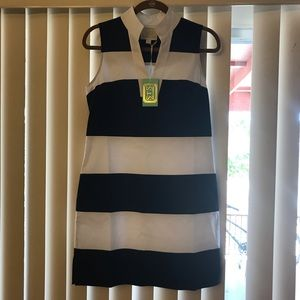 STS Nave blue & white dress